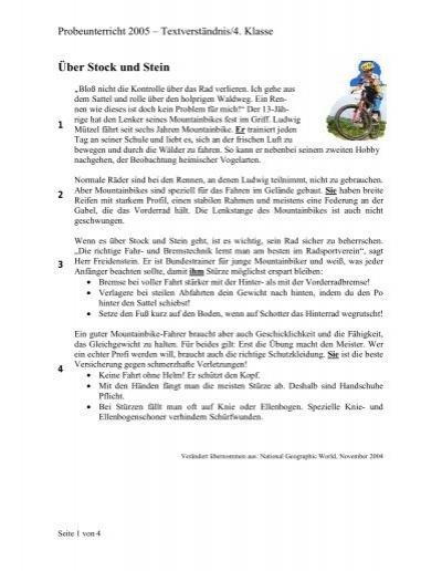 Lollipop-Anleitung Deutsch für die 4 Klasse