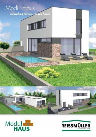 modul haus reissm ller baugesellschaft m b h. Black Bedroom Furniture Sets. Home Design Ideas