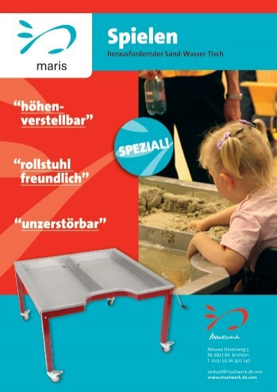 sand wasser tisch maris maatwerk kindermeubilair. Black Bedroom Furniture Sets. Home Design Ideas