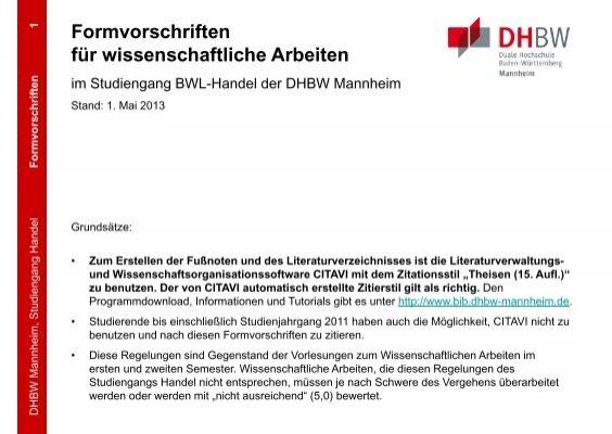 bib dhbw mannheim