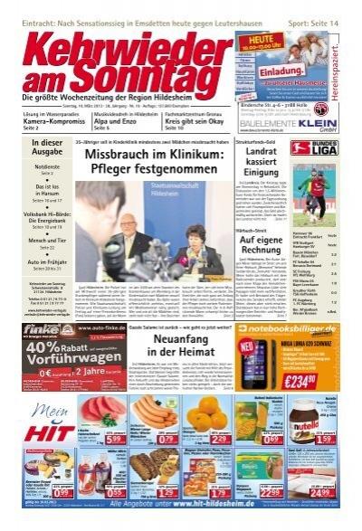 Hildesheim Kehrwieder Am Sonntag
