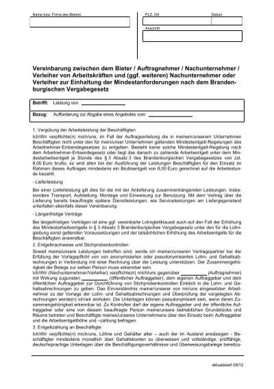 Wunderbar Auftragnehmer Vertraulichkeitsvereinbarung Zeitgenössisch ...