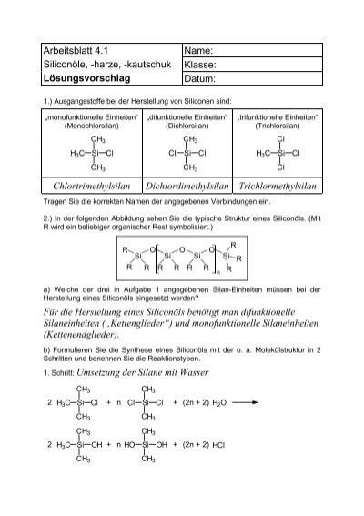 Arbeitsblatt 3.3 Emulsion