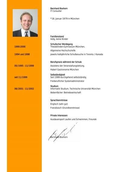 lebenslauf bernhard boxhorn pdf download boxhorn edv - Lebenslauf Pdf Download