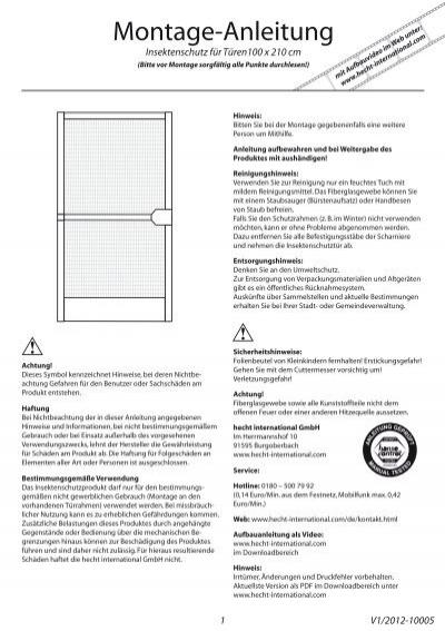 alu bausatz t ren hecht international gmbh. Black Bedroom Furniture Sets. Home Design Ideas
