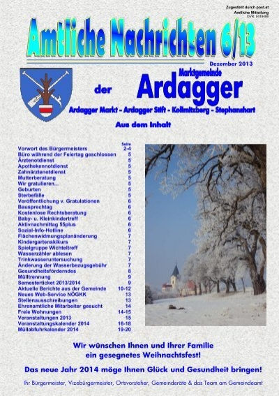 ardagger in Amstetten - Thema auf optical-mark-recognition.com
