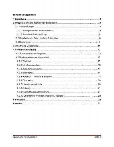 Inhaltsverzeichnis 1 E