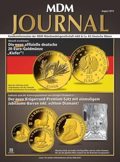 Die Neue Offizielle Deutsche 20 Euro Goldmã¼nze Mdm Deutsche