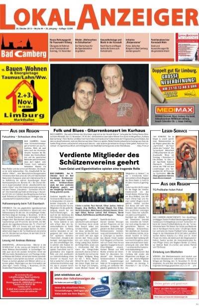 Kw 44 30 10 2013 Der Lokalanzeiger
