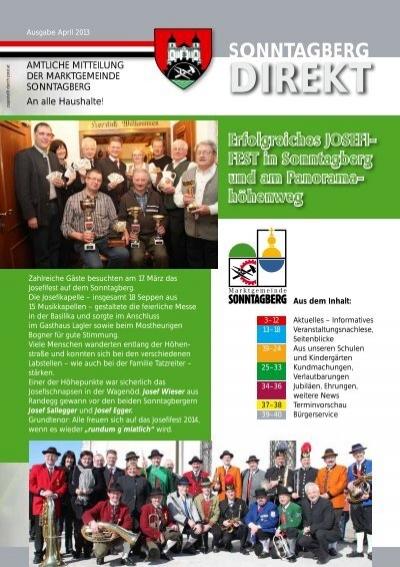 Krumbach markt frauen kennenlernen: Sonntagberg kontakt
