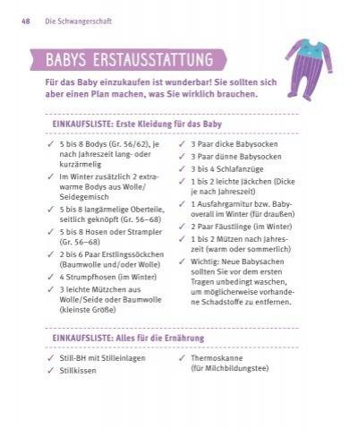 checkliste erstausstattung baby. Black Bedroom Furniture Sets. Home Design Ideas