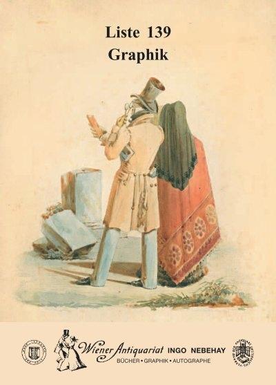 Liste 139 Graphik International League Of Antiquarian Booksellers