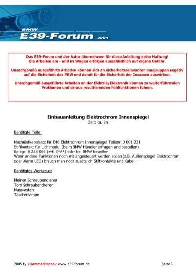 Schaltplan Bmw E39 Download