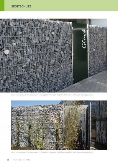 sichtschutz lochblech garten balkon, gabionen & lochblech edel, Design ideen