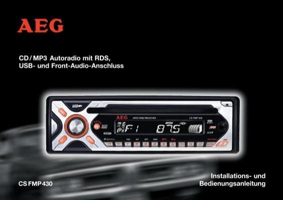 cd mp3 autoradio mit rds usb und front audio anschluss. Black Bedroom Furniture Sets. Home Design Ideas