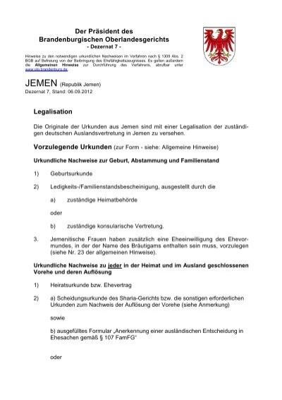 MAROKKO - Brandenburgisches Oberlandesgericht - Brandenburg.de
