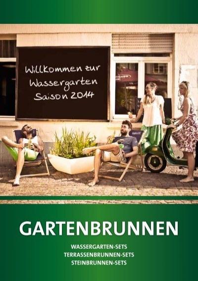 gartenbrunnen wassergarte. Black Bedroom Furniture Sets. Home Design Ideas