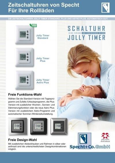 schaltuhr jolly timer specht co gmbh jolly motor. Black Bedroom Furniture Sets. Home Design Ideas