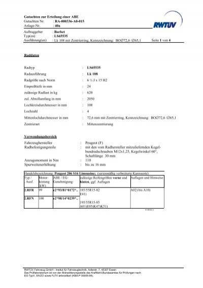 fahrzeughersteller : peugeot (f  - onlineraeder.de