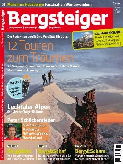 Bergsteiger 12 Touren zum Träumen (Vorschau)