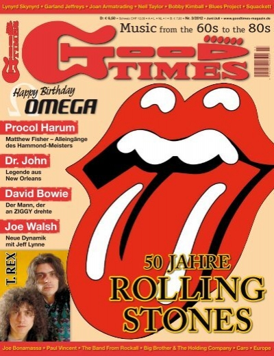 Goodtimes Music From The 60s To The 80s 50 Jahre Rolling Stones