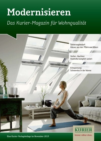 modernisieren verlagsbeilagen des nordbayerischen kurier. Black Bedroom Furniture Sets. Home Design Ideas