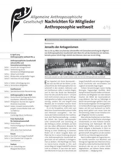 Anthroposophie weltweit goetheanum - Anthroposophische mobel ...