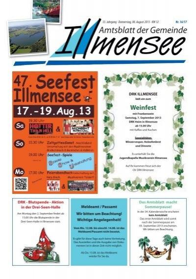 Amtsblatt Der Gemeinde Illmensee
