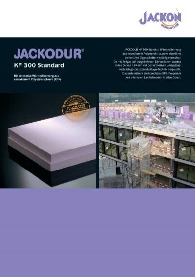 jackodur kf 300 produktblatt jackon insulation. Black Bedroom Furniture Sets. Home Design Ideas