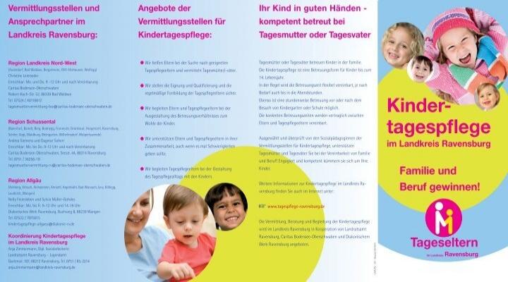 Flyer Caritas Bodensee Oberschwaben