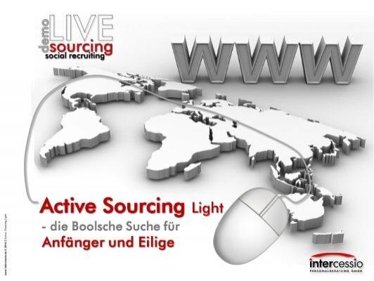 Active Sourcing Light Die Boolsche Suche Für Anfänger Und Eilige