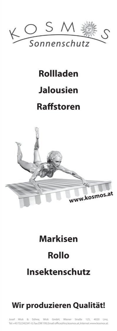 Rollladen Jalousien Raffs
