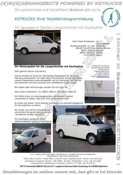 Vw T5 Frischemobil 040110 Kstrucks