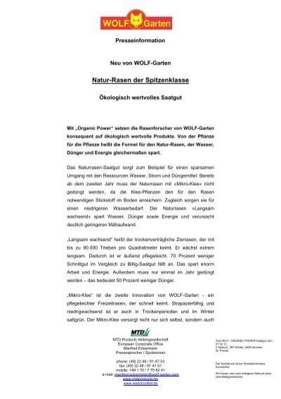 organic power-saatgut - waschzettel.de, Garten ideen