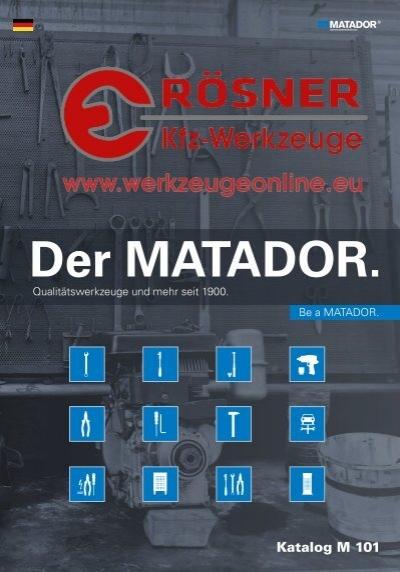 3//8 10 MATADOR 0367 0016 Z/ündkerzenschl/üssel - 16 mm