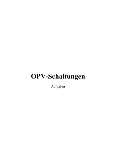 OPV-Schaltungen