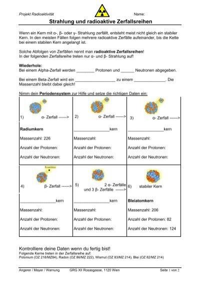 Ziemlich Zerfall Der Praxis Arbeitsblatt 1 Galerie - Arbeitsblatt ...