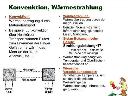 wrmeleitungsgleichung - Warmestrahlung Beispiele