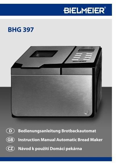 KNETHAKEN pour Bielmeier BHG 397 brotbackautomaten ST