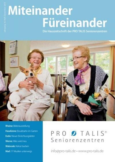 Miteinander Fureinander 3 2013 Pro Talis