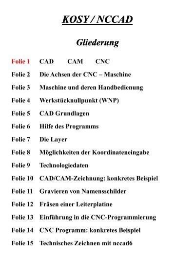 Nc Cad