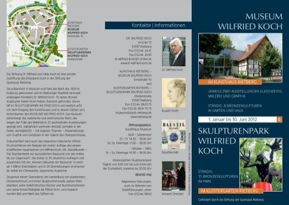 Skulpturenpark wilfried koch museum stadt rietberg for Koch rietberg