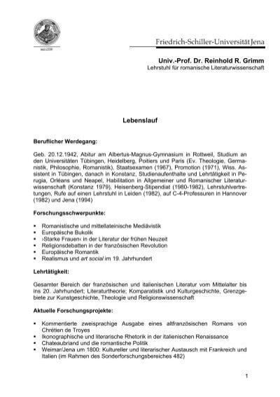 Univ.-Prof. Dr. Michael Quante; Universität zu Köln Lebenslauf ...