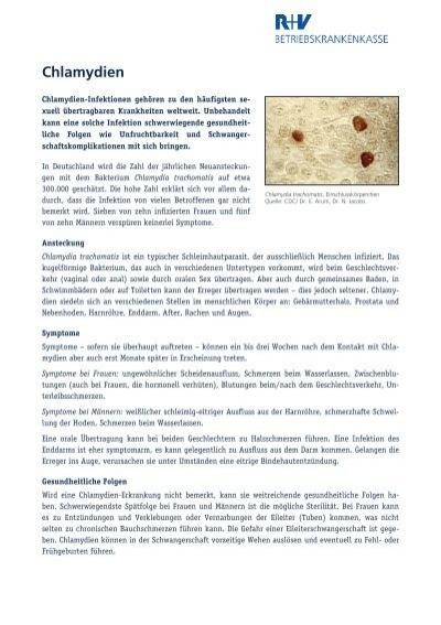 Chlamydien urintest morgenurin