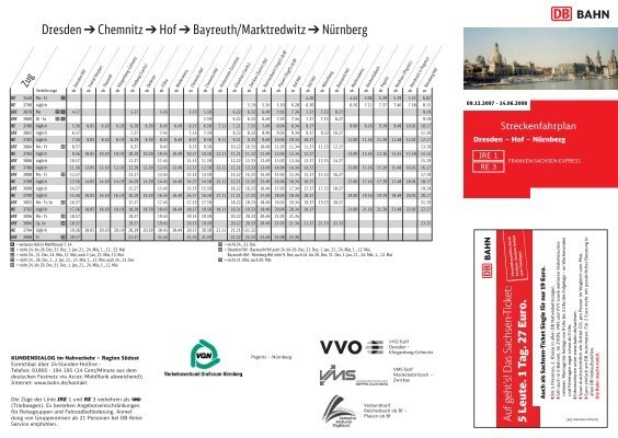 Single sachsen ticket Sachsen/Lander Ticket