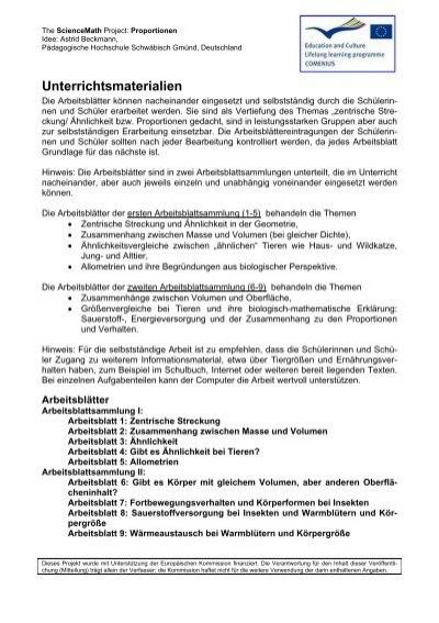 Unterrichtsmaterial - Science Math - Pädagogische Hochschule ...