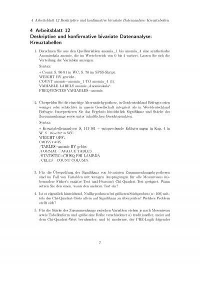 Ziemlich Chi Quadrat Arbeitsblatt Ideen - Arbeitsblatt Schule ...