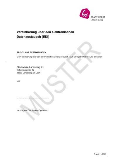Muster 2 Gesonderte Vereinbarung Der Wohnungseigentã¼mer
