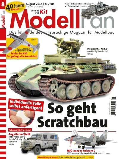 16* Bauteil Nr Heft* 118 Panzer V Panther 1