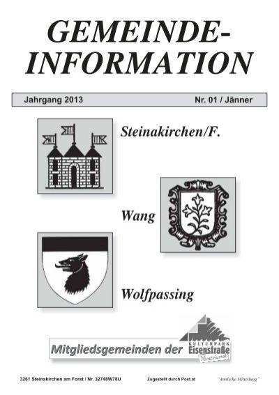KJ Steinakirchen/Forst - Thema auf volunteeralert.com
